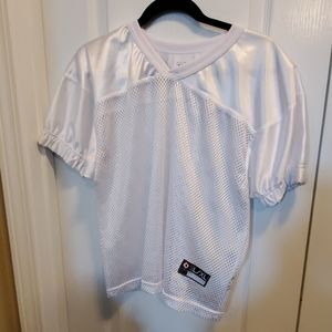 S.A.Gear youth L/XL practice football Jersey white